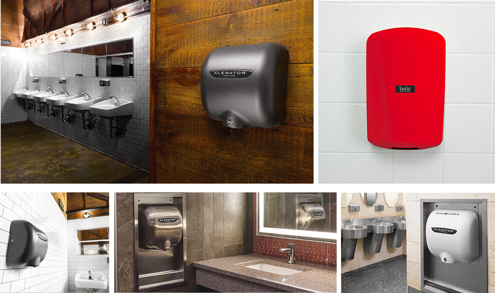 images of customized hand dryers