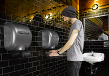 Using hand dryers for proper hygiene